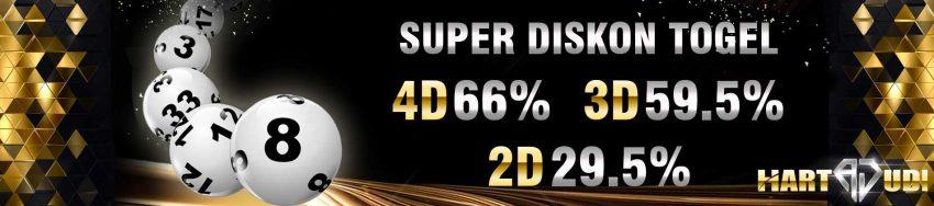 diskon togel 66%